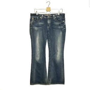 Big Star Womens Maddie Jeans Size 31S Blue